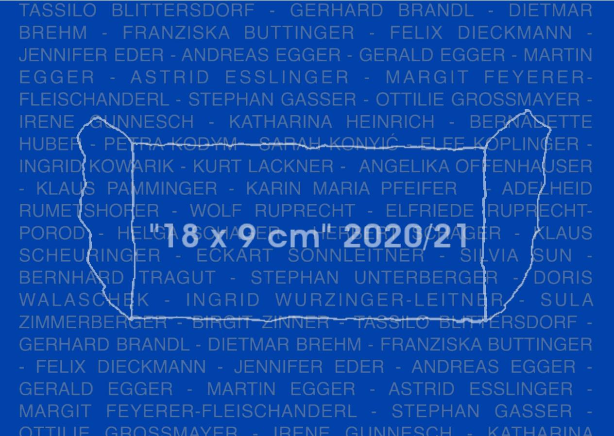 """""""18 x 9 cm"""" 2020/21"""